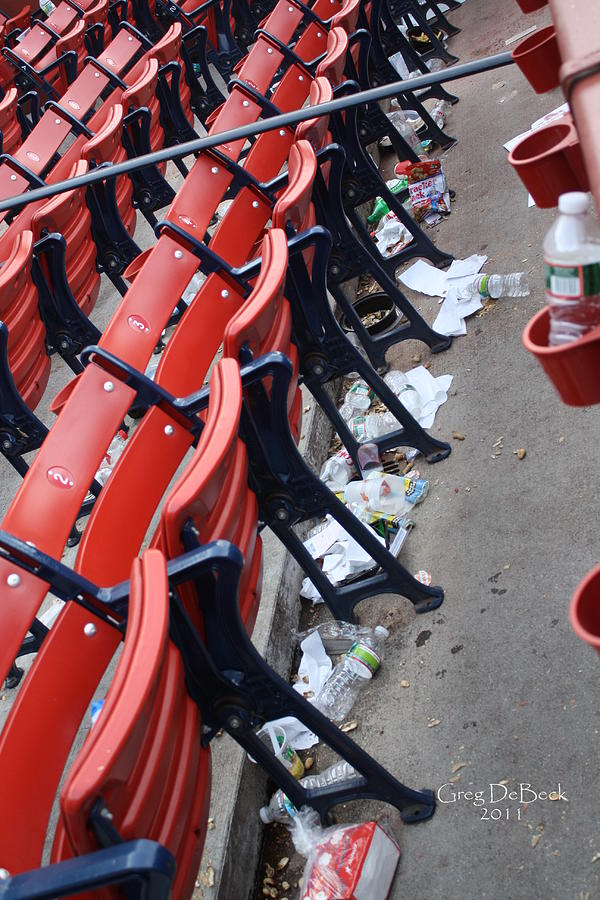 Mlb Photograph - After The Game by Greg DeBeck