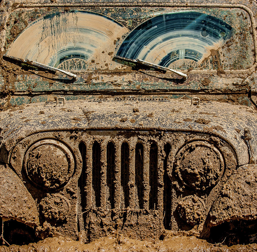 Jeep Photograph - After The Mudbog by Jay Heiser