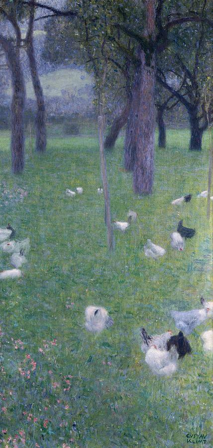 Painting Painting - After The Rain by Gustav Klimt