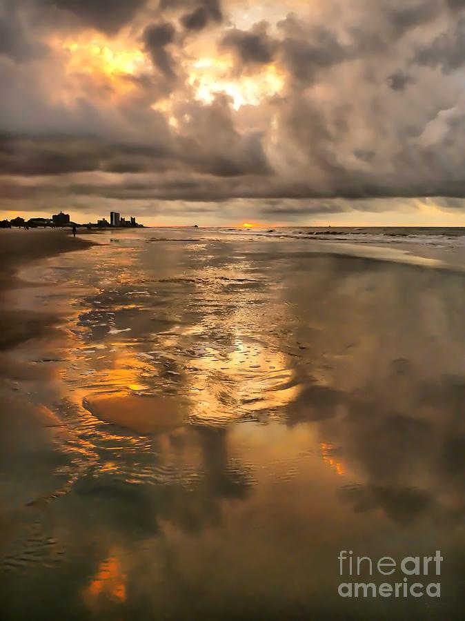 Beach Photograph - After The Rain by Jeff Breiman