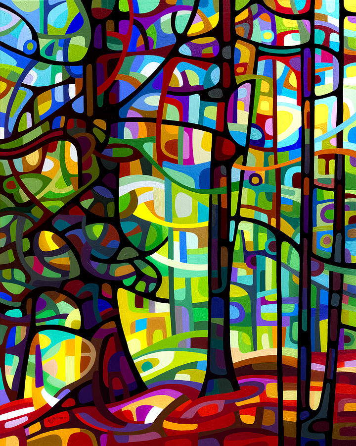 Landscape Painting - After The Rain by Mandy Budan