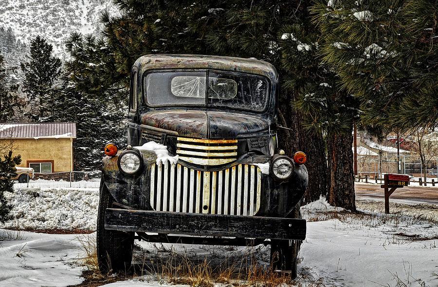 Palmer Lake Colorado Photograph - After The Snow Falls by Ken Smith