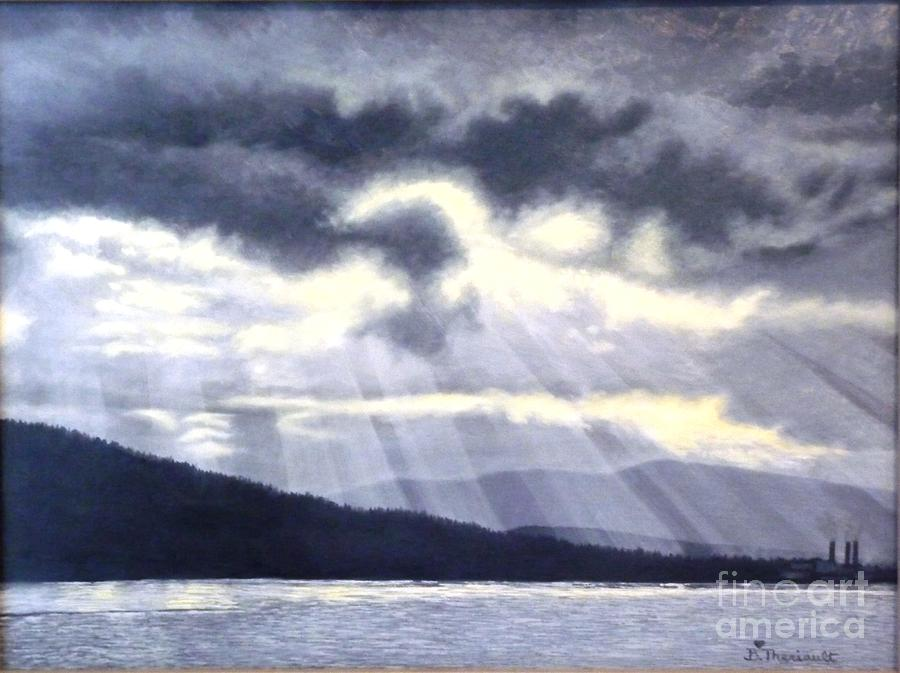 Gabriola Painting - After The Storm by Beverly Theriault