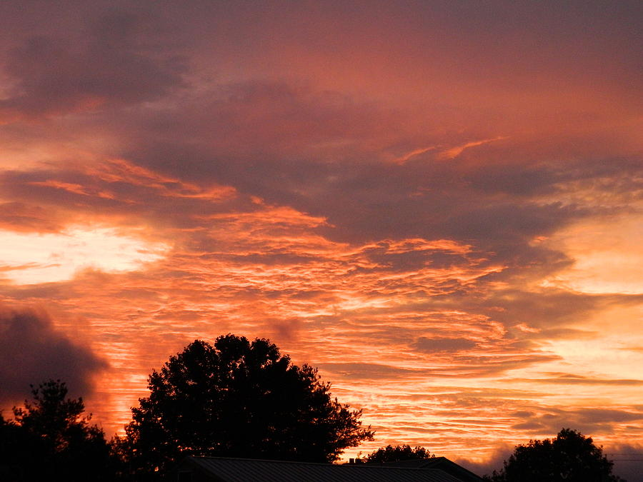 Sunset Photograph - After The Storm by Linda Brown