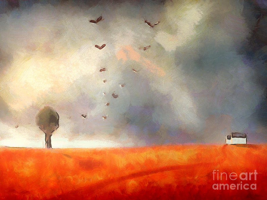 Nature Painting - After The Storm by Pixel Chimp