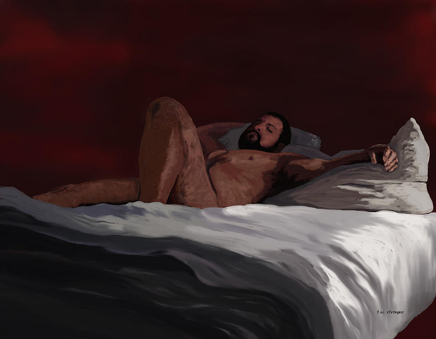 Male Painting - After by Tim Stringer