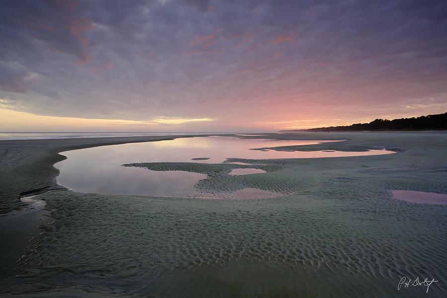 Atlantic Ocean Digital Art - Afterglow by Phill Doherty