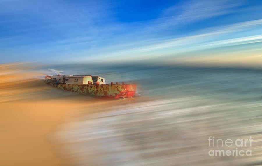 Outer Banks Photograph - Aftermath - A Tranquil Moments Landscape by Dan Carmichael