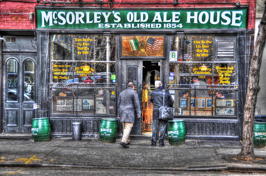 Mcsorley's Old Ale House Photograph - Afternoon At Mcsorleys by Randy Aveille