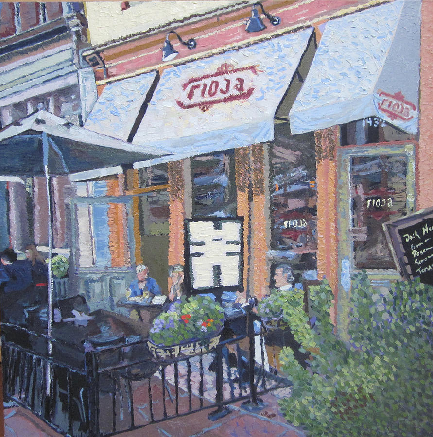 Denver Painting - Afternoon At Rioja by Kendal Greer