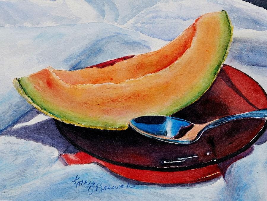 Watercolor Painting - Afternoon Delight by Kathy Nesseth