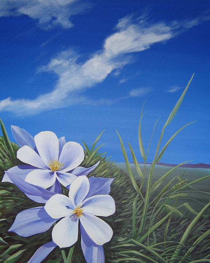Landscape Painting - Afternoon High by Hunter Jay