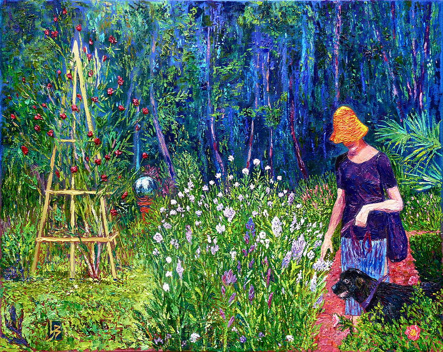 Afternoon in the Gardens by Linda J Bean