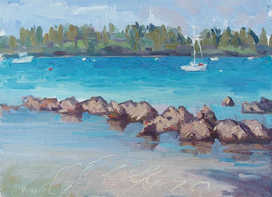 Bermuda Painting - Afternoon Light by Dianne Panarelli Miller