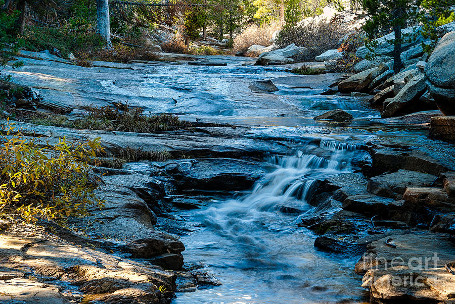 Kings Canyon Photograph - Afternoon Light On River. 1-7706  by Stephen Parker