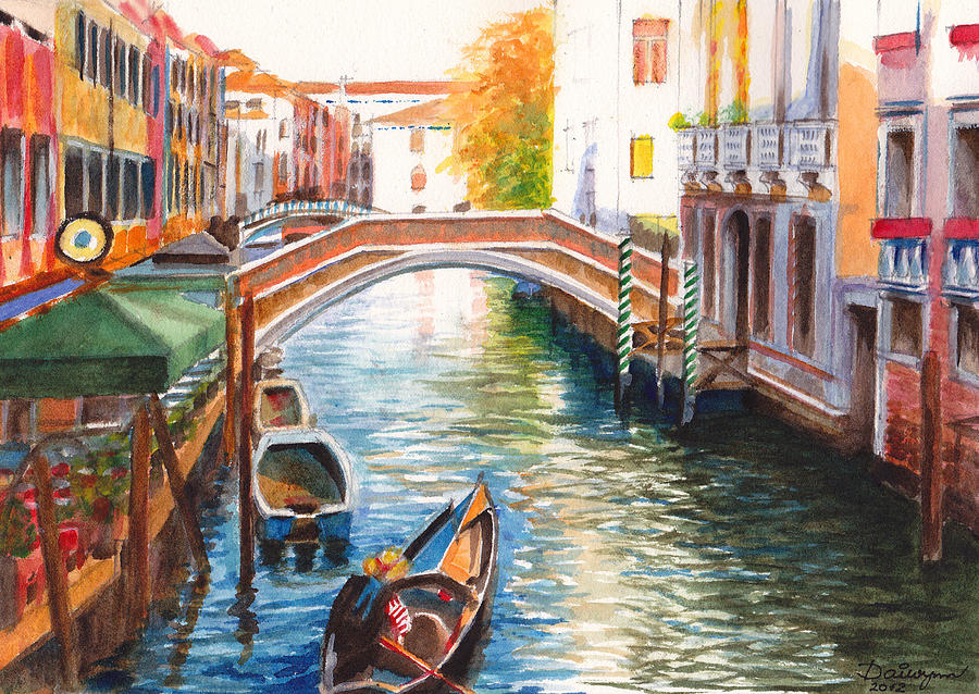Canvas Art Venice