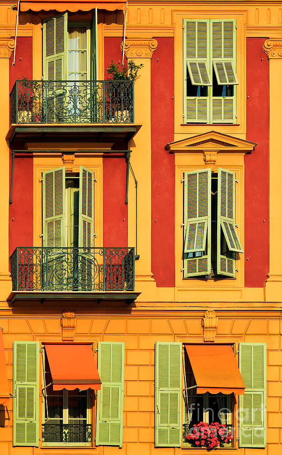 Balcony Photograph - Afternoon Windows by Inge Johnsson