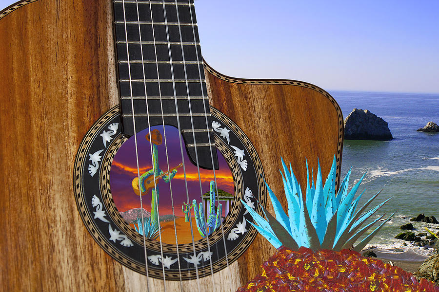 Agave Guitar by Greg Wells