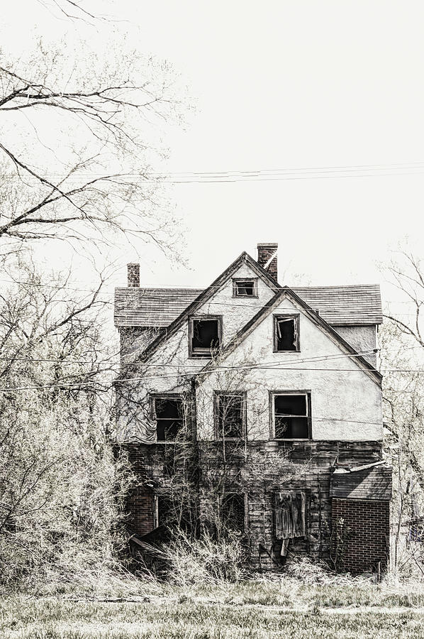 House Photograph - Aged Beyond Repair by Margie Hurwich