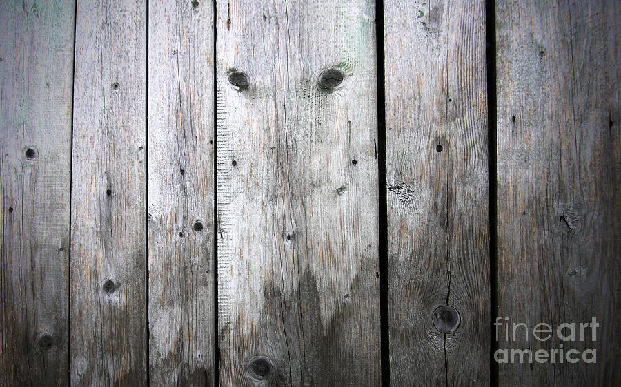 Wood Relief - Aged Wood Boards by Jolanta Meskauskiene