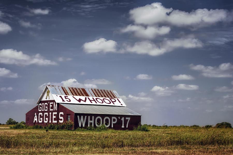 Joan Carroll Photograph - Aggie Barn by Joan Carroll