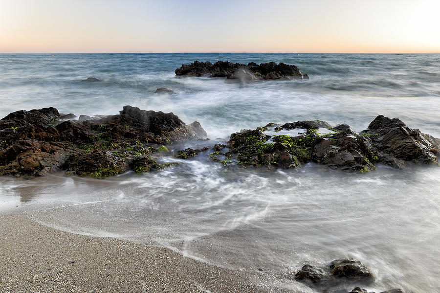 Sea Photograph - Aguamarina I by Goyo Ambrosio