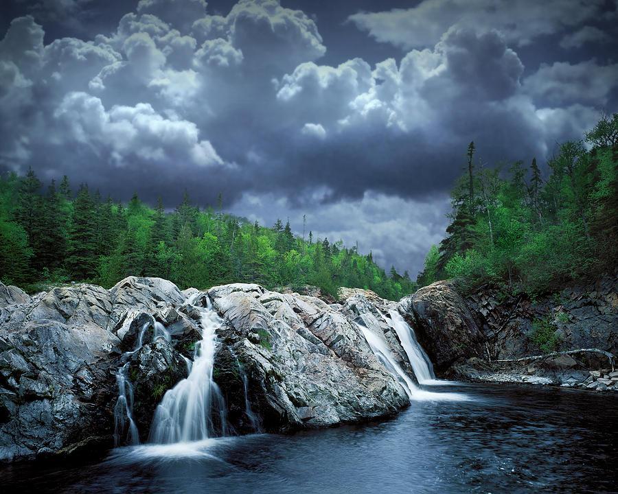 Art Photograph - Aguasabon River Mouth by Randall Nyhof