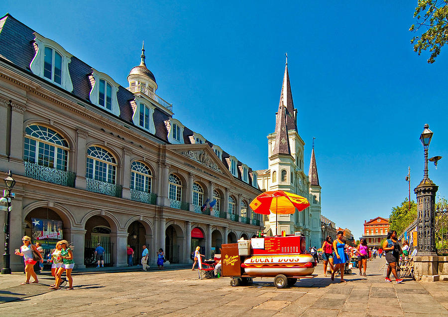 French Quarter Photograph - Ahh...new Orleans by Steve Harrington