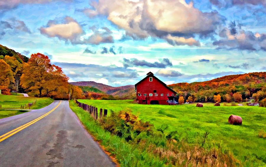 West Virginia Photograph - Ah...west Virginia Oil by Steve Harrington