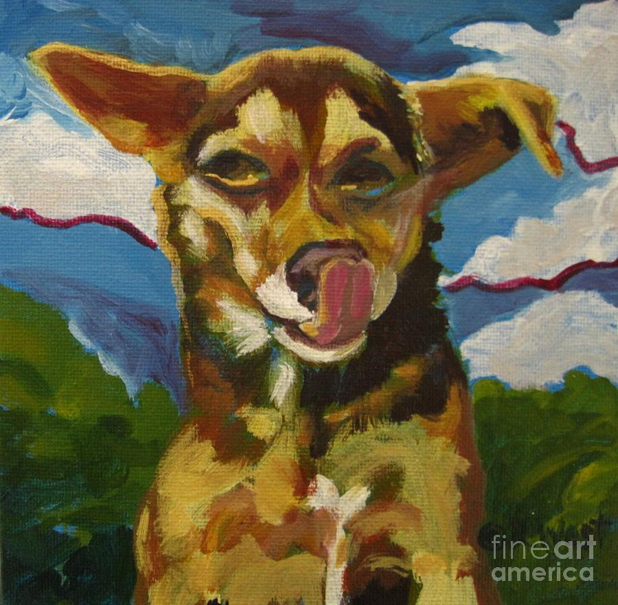 Original Painting Painting - Ai Chihuahua by Katrina West