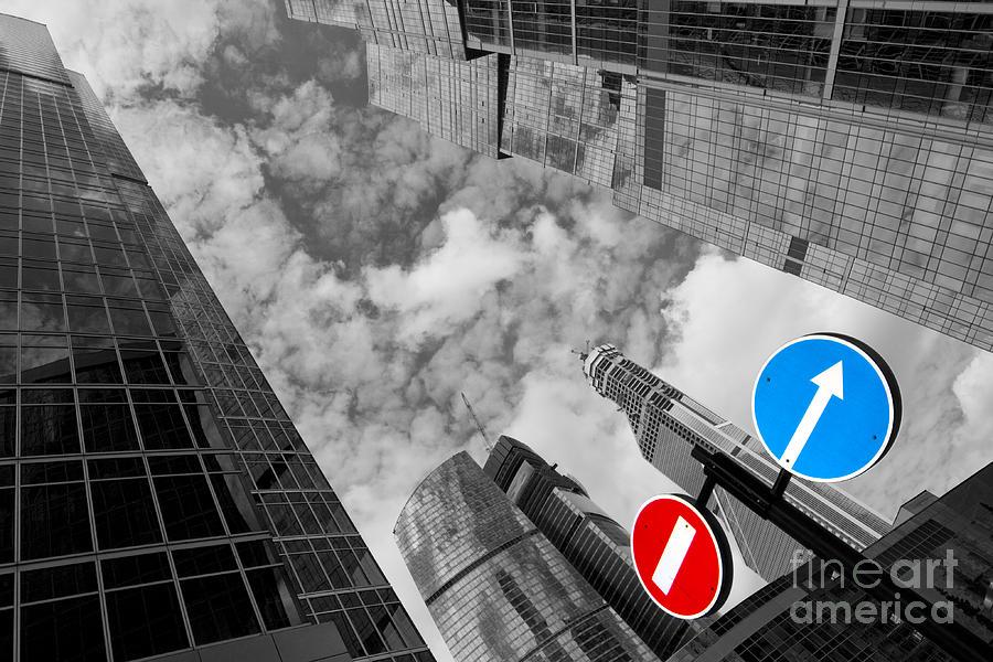 Skyscraper Photograph - Aim High by Maurizio Bacciarini