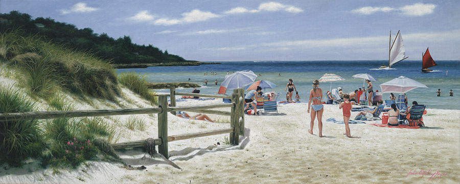 Ain't Life Grand - Old Silver Beach Painting by Julia O ...