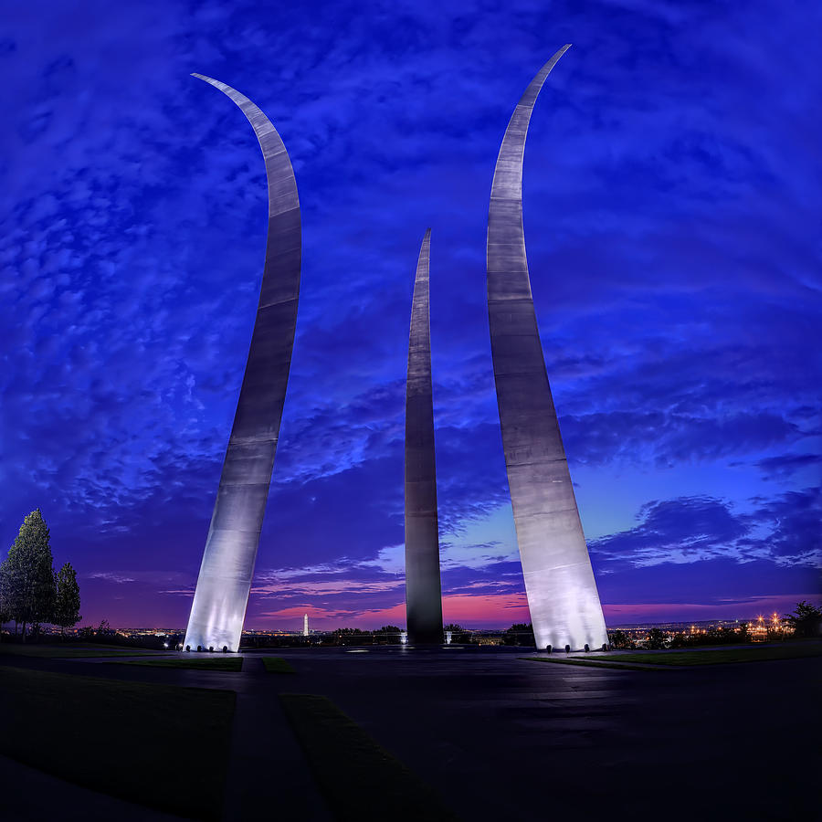 Air Force Memorial Sunrise by Metro DC Photography