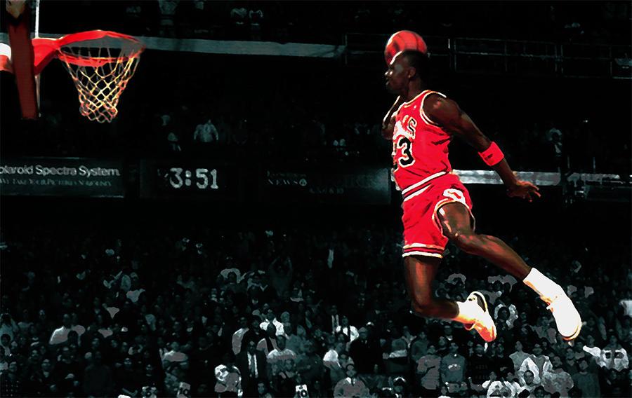 Jumpman Wall Art - Digital Art - Air Jordan In Flight Iv by Brian Reaves 9ddd0a509
