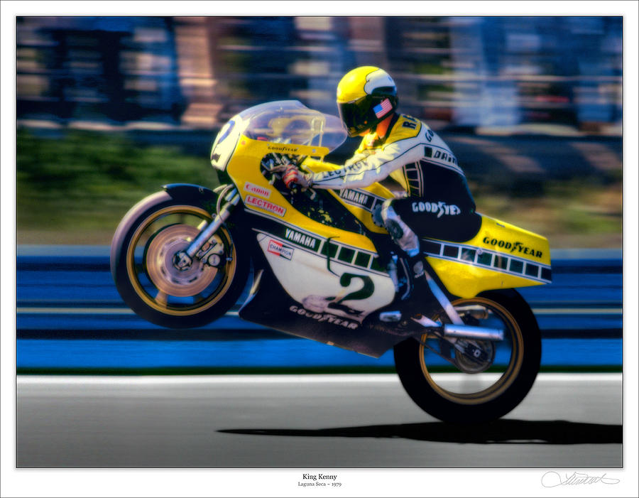 Motorcycles Photograph - Air by Lar Matre