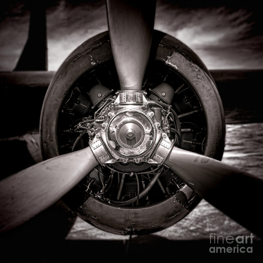 Propeller Photograph - Air Power by Olivier Le Queinec