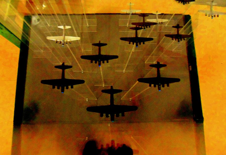 Air War Photograph - Air War by Randall Weidner