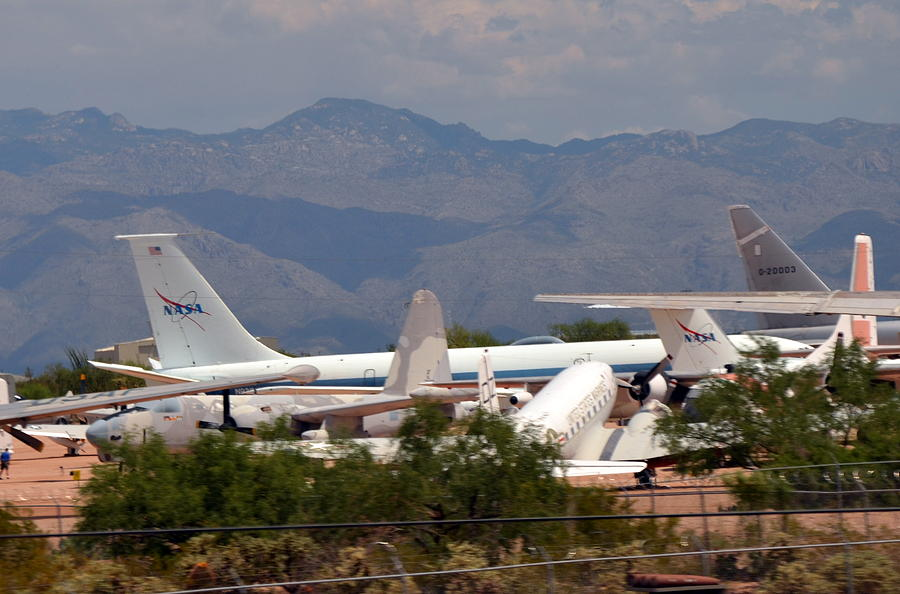 Aircraft Boneyard Photograph