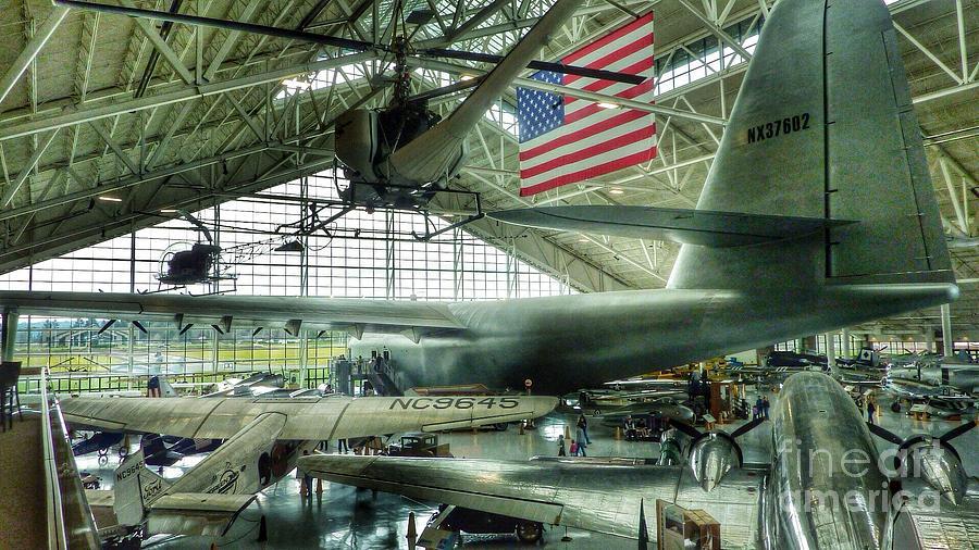 Airplane Era Photograph