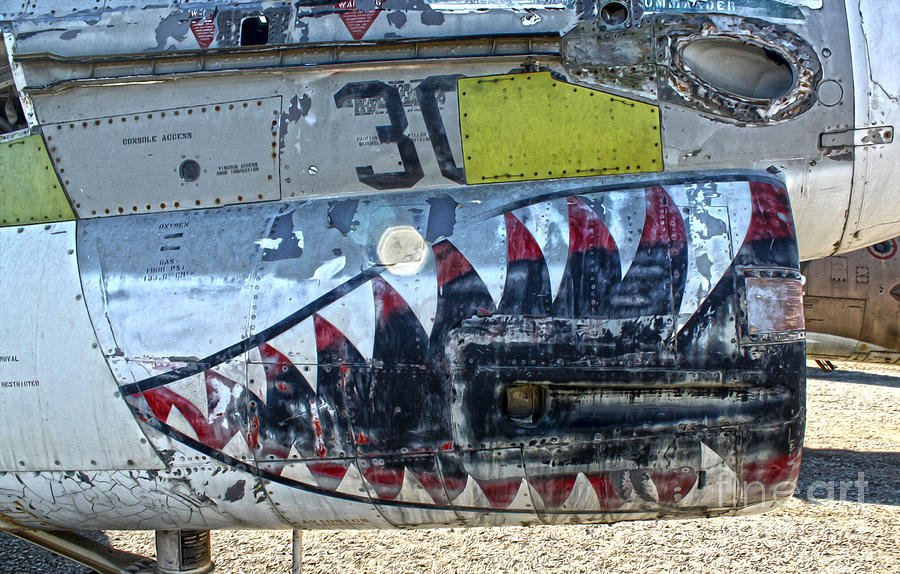 Airplanes Photograph - Airplane Graveyard - 06 by Gregory Dyer