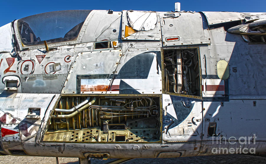 Airplanes Photograph - Airplane Graveyard - 07 by Gregory Dyer