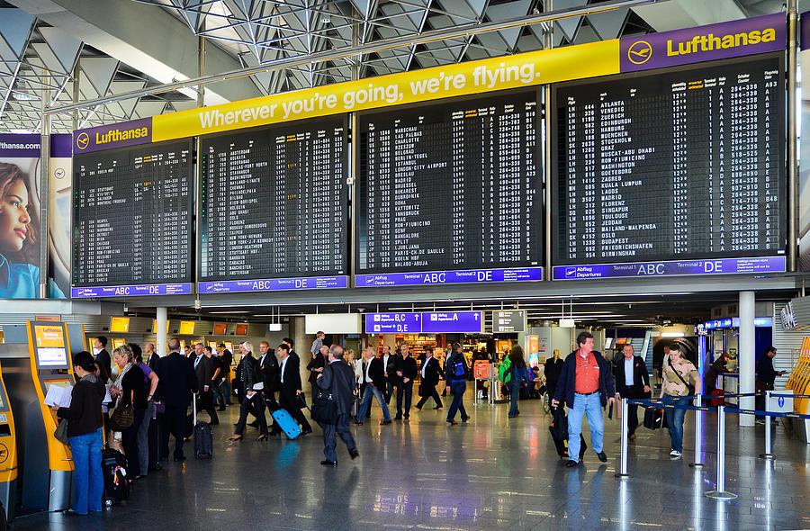 Frankfurt Flughafen Departures