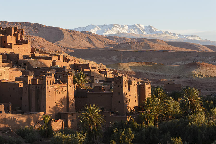 Ait Benhaddou Kasbah at dawn, Morocco Photograph by Cyrille Gibot