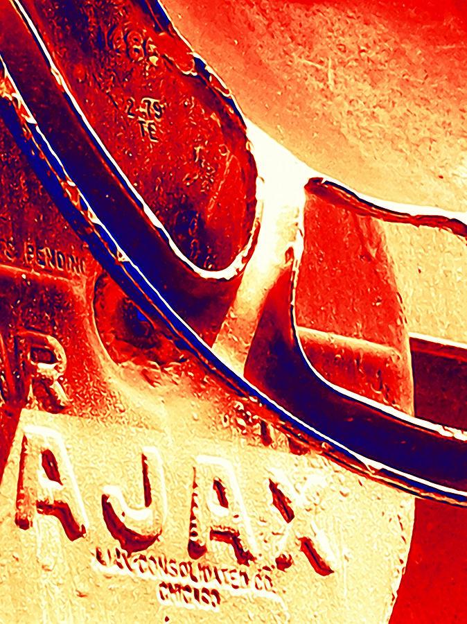 Art166 Photograph - Ajax by Wendy J St Christopher