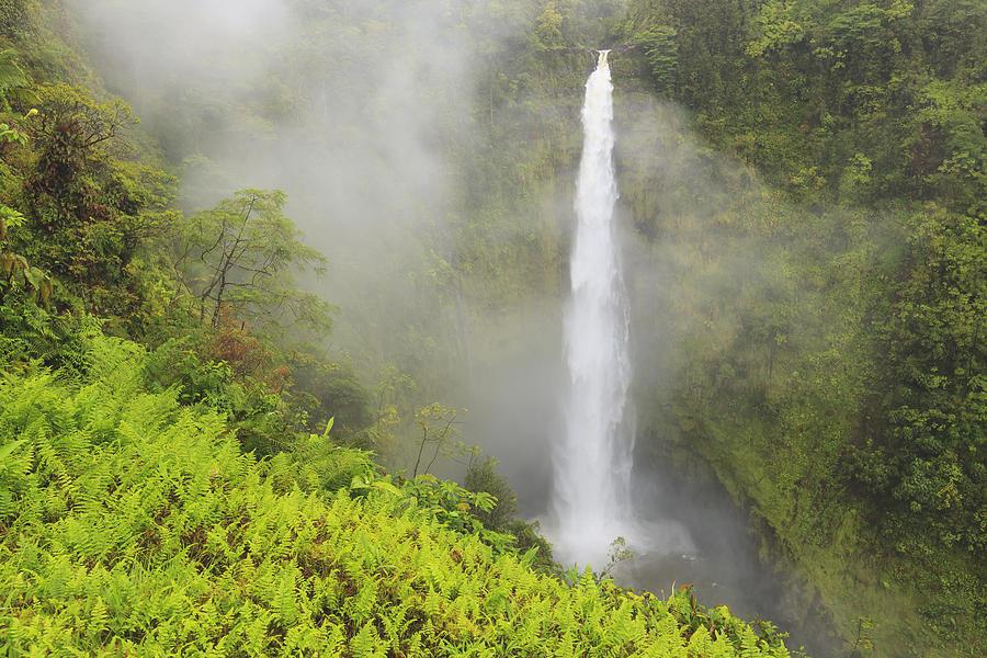 Waterfall Photograph - Akaka Falls Akaka Falls State Park by Stuart Westmorland