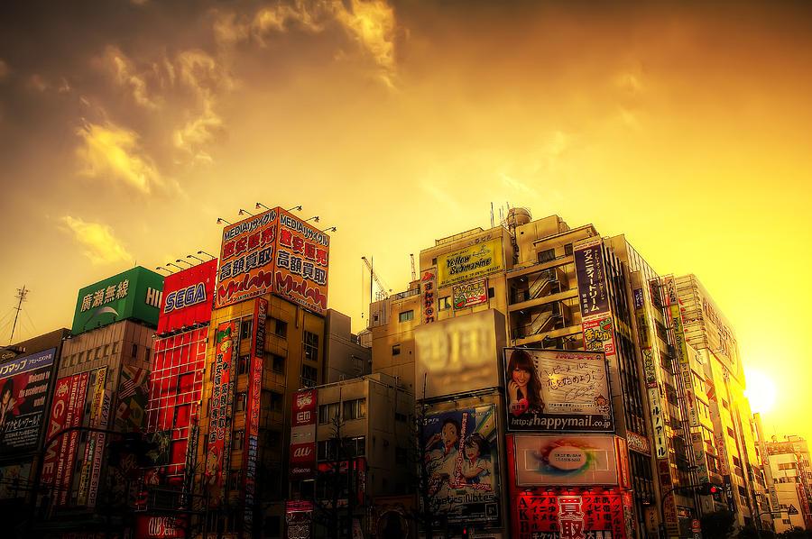 Akihabara Sunset Photograph by SEOS Photography