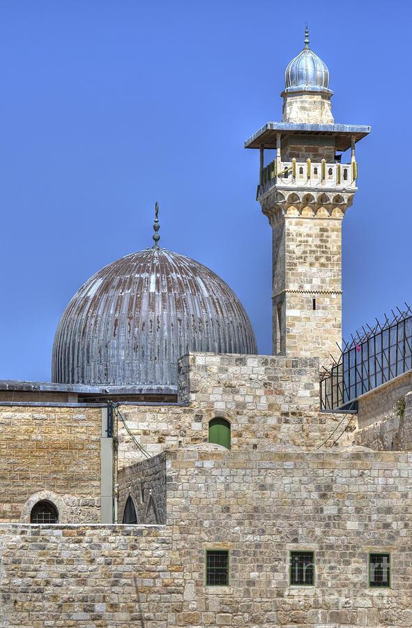 Al Aqsa Mosque Jerusalem 2 Photograph by Amir Paz