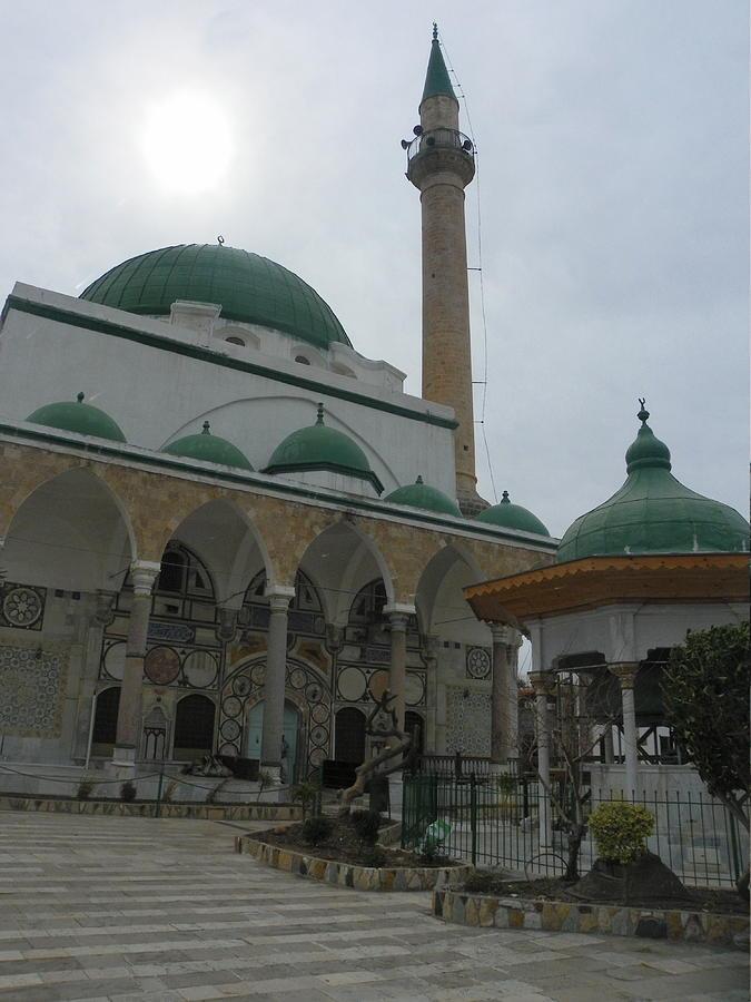 Akko Photograph - Al Jazzar Mosque by Noreen HaCohen