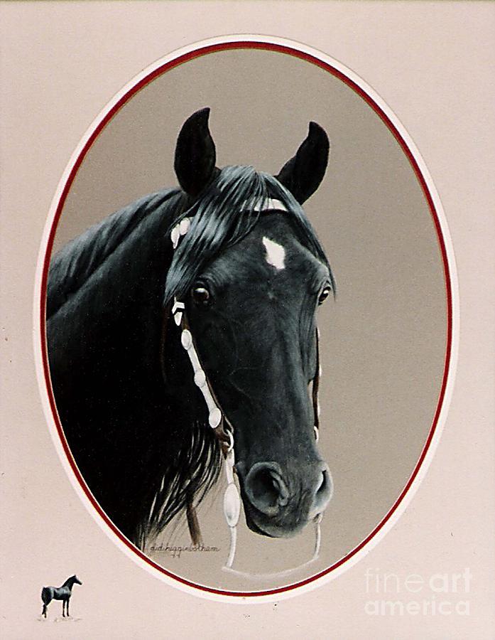 Portrait Painting - Al Zirr Portrait by DiDi Higginbotham