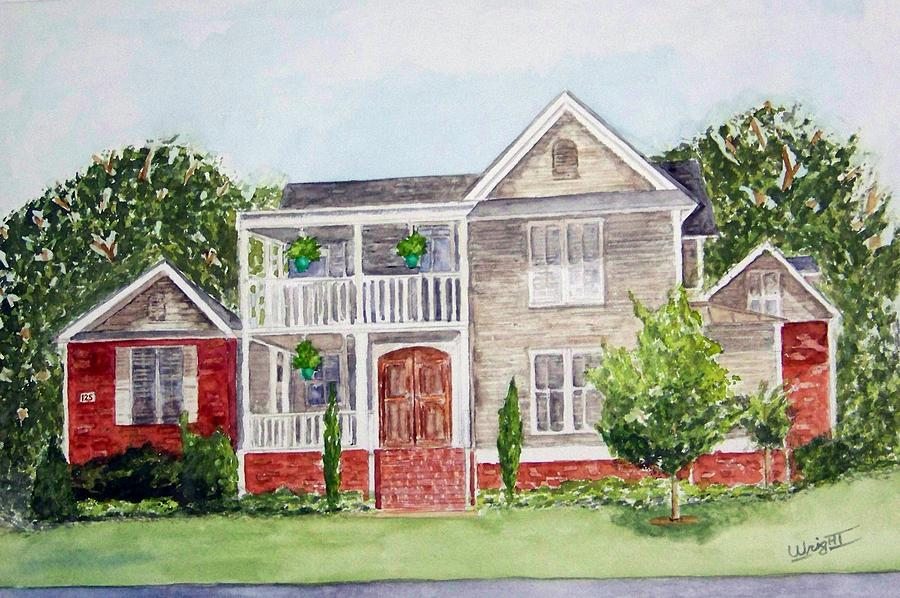 Architecture Painting - Alabama Charm   Sold by Larry Wright